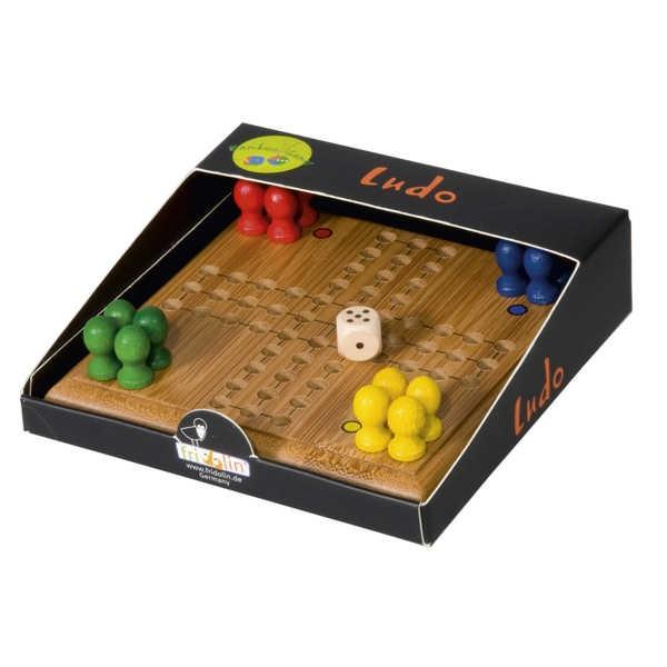 """Mini Brettspiel, Reisespiel """"Ludo"""""""