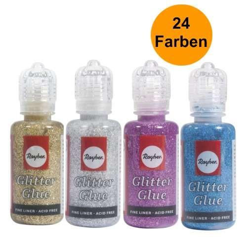 Glitter-Glue, Glitterkleber 20ml