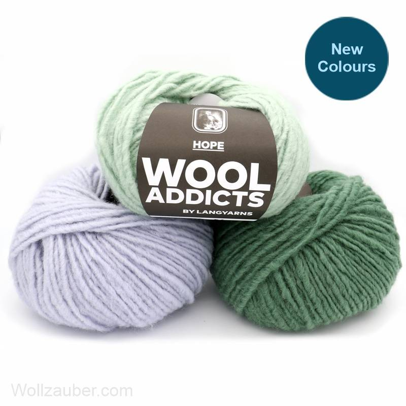 Wooladdicts HOPE von Lang Yarns 100g
