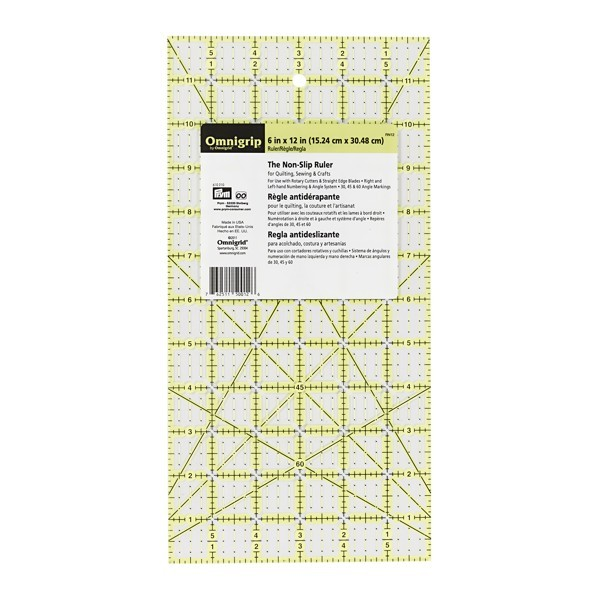 Omnigrip Anti - Rutsch Lineal, 6x12inch PRYM 610210