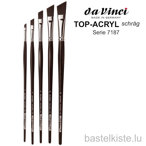Da Vinci TOP-ACRYL schräg, Serie 7187