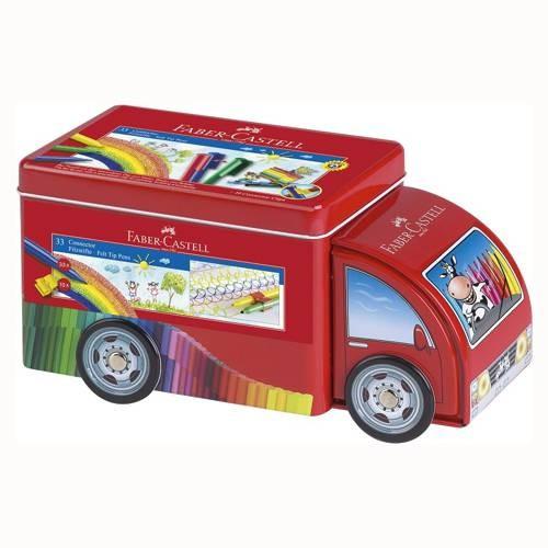 Faber Castell Filzstifte Truck mit 33 Stiften