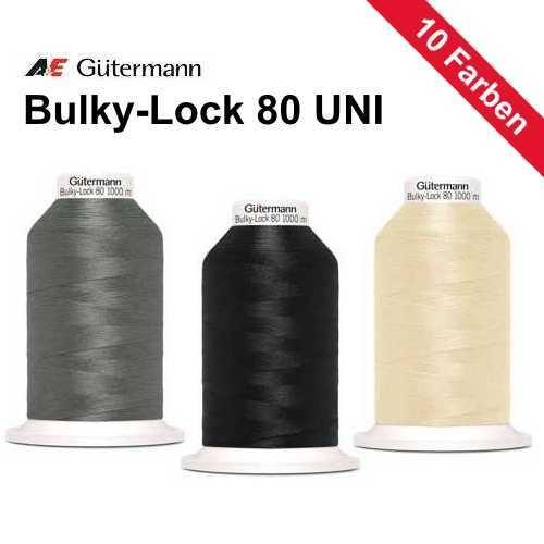 Overlockgarn Bulky Lock 80 Uni Bauschgarn 1000m
