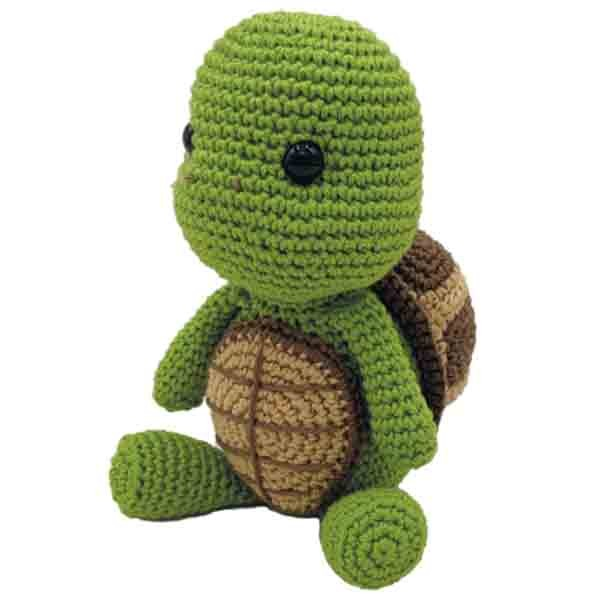 Häkelset Schildkröte