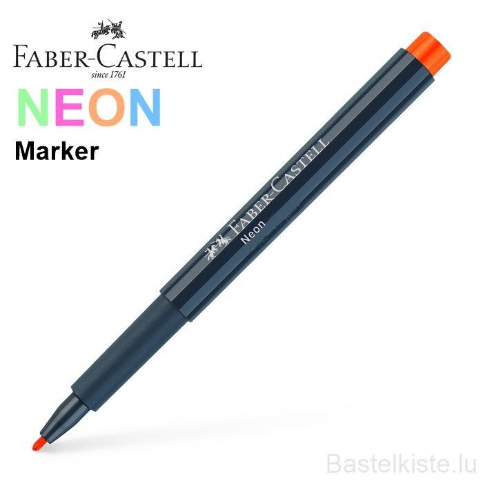 Neon Marker einzeln in 6 Farbtönen
