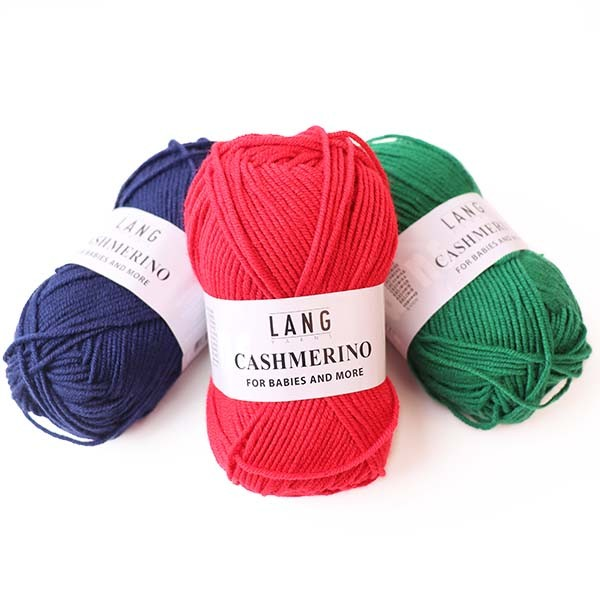 Lang Yarns Cashmerino for babies and more ✓ 55% Merino Wolle 33% Polyacryl 12% Kaschmir ✓ Versandkostenfrei ab 20€ DE, LU ✓ Große Auswahl ✓ schnelle Lieferung ✓ große Kundenzufriedenheit