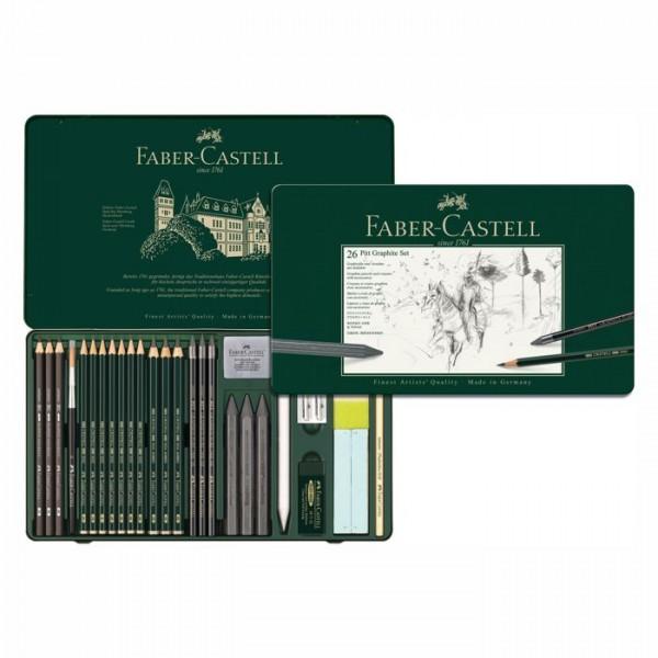 Faber Castell Pitt Graphite Set - 26 teillig