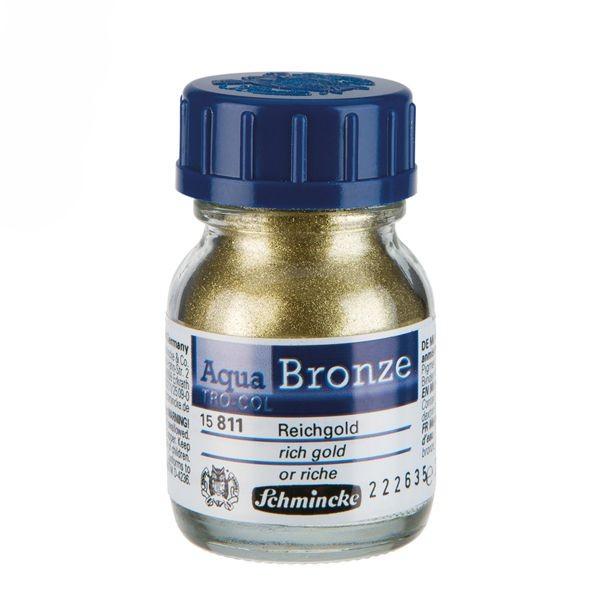 Schmincke Aqua BRONZE 20ml ►Reichgold◄