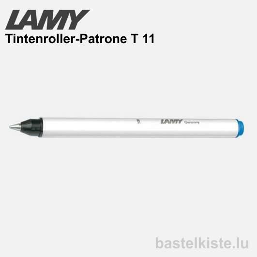 LAMY Tintenroller-Patrone T11, 3 Stück