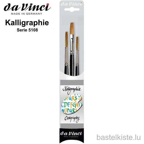 Da Vinci 3-teiliges Kalligraphie Set, Serie 5108