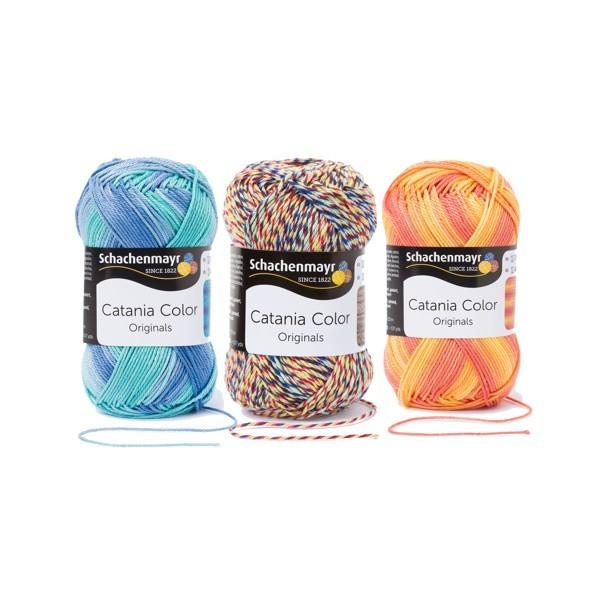 SCHACHENMAYR Catania Color 50g ✓ Top Preise ✓ Versandkostenfrei ab 20,- €  DE, LU ✓ Große Auswahl an Wolle ✓ Wolle von hoher Qualität ✓ Schnelle Lieferung ✓ Zufriedene Kunden ✓