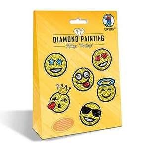 """DIAMOND PAINTING """"Sticker Smileys"""""""