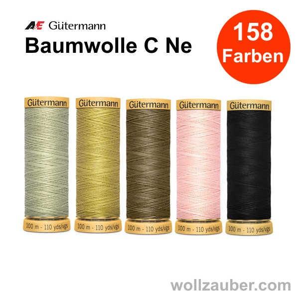 Gütermann Baumwollgarn C Ne 100m