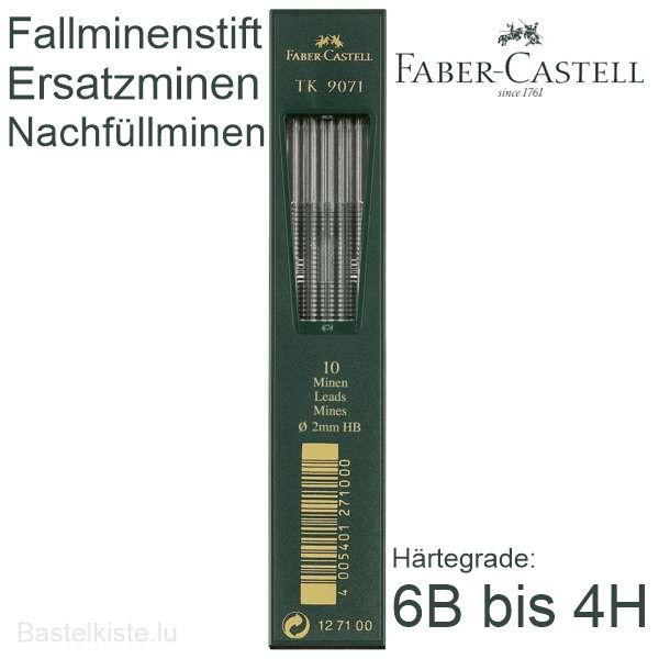 Ersatzminen, Nachfüllminen Ø 2mm für Fallminenbleistift