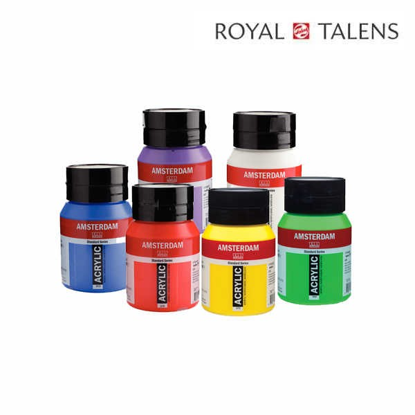 AMSTERDAM Standard Acrylfarben, 500ml