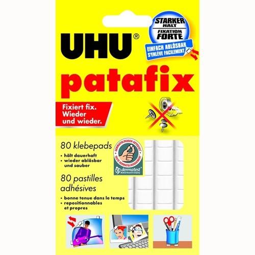 UHU patafix weiß, 80 Klebepads