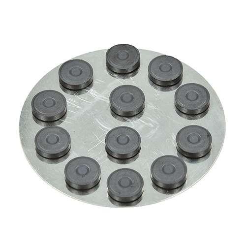 Rundmagnete rund Ø 12,5 mm, 12 Stück