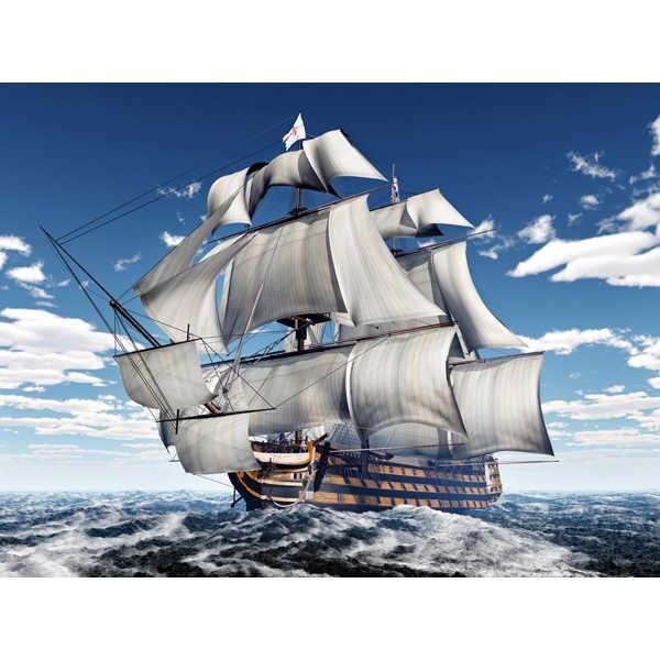 Diamond ART, Daimond Painting 40x50cm, Segelschiff