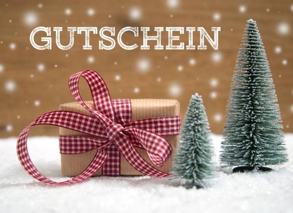 Geschenkgutschein Weihnachten wollzauber.com