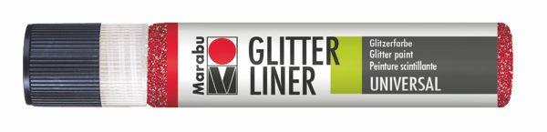 538 Glitter-Rubin