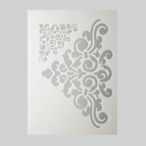 Schablone Ornament DIN A5