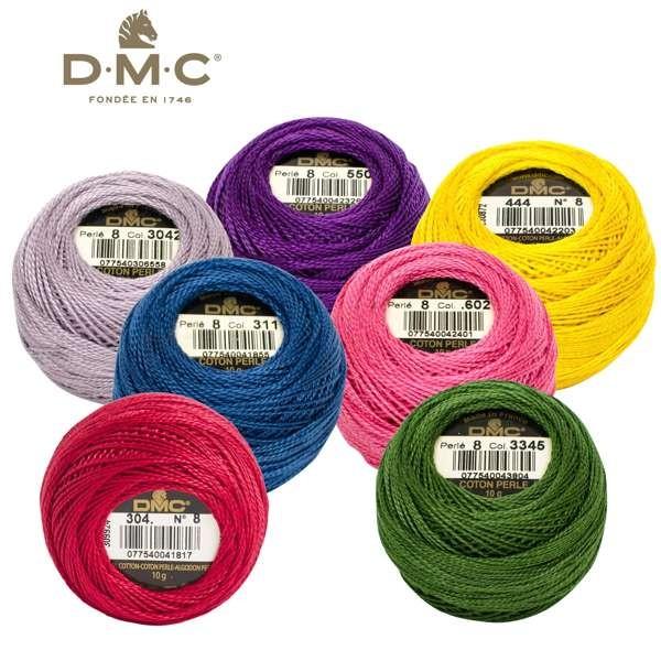 DMC Coton Perlé Perlgarn 116 Nr. 8, 10g Knäuel 116A wollzauber