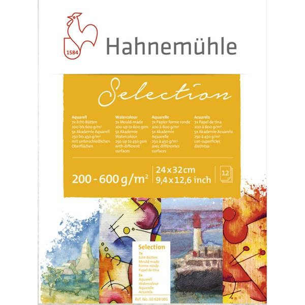 Hahnemühle Selection 24x32 cm, 12 Blatt