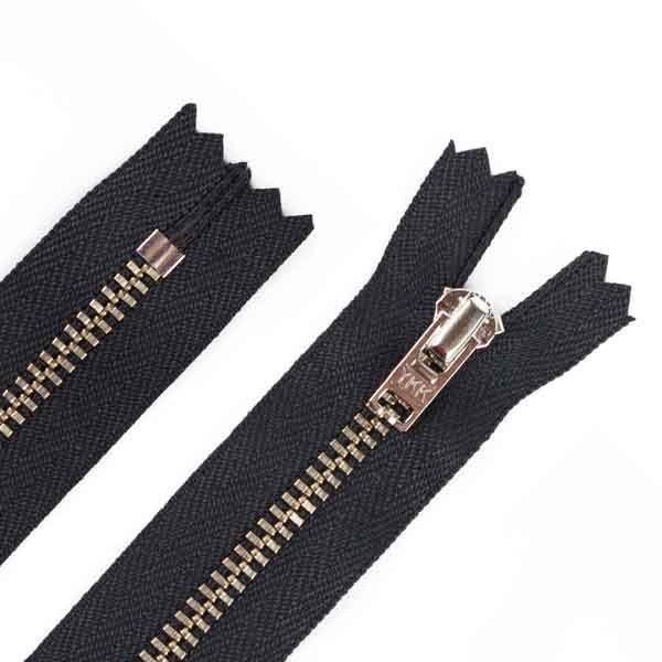 16cm Hosen Reißverschluss Metall