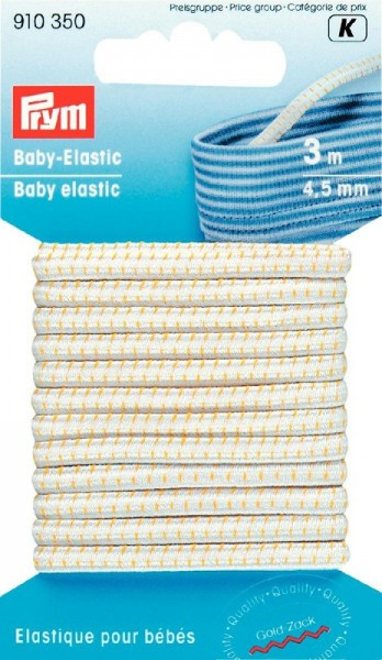 Baby-Elastic 4,5mm weiß, 3m prym 910350