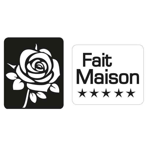"RAYHER Seifenlabels ""Fait Maison"", Rose"