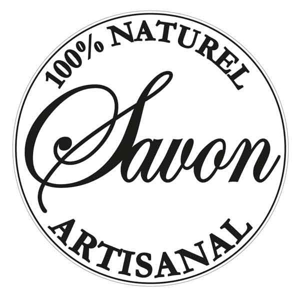 """RAYHER Seifenlabel """"100% naturel artisanal"""""""