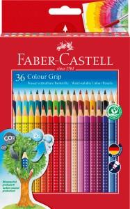 Colour Grip, 36er Set - Wasservermalbare Buntstifte