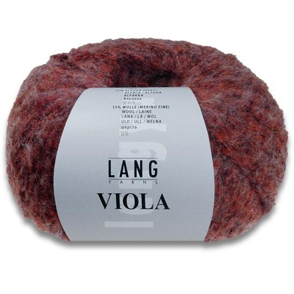 Viola von Lang Yarns ✓ Versandkostenfrei (ab 20 € DE, LU) ✓ Tolles Flauschgarn mit hohen Naturfaseranteil. ✓ Extrem große Lauflänge. Zart, weich und leicht ✓ tollen Farbkombinationen,