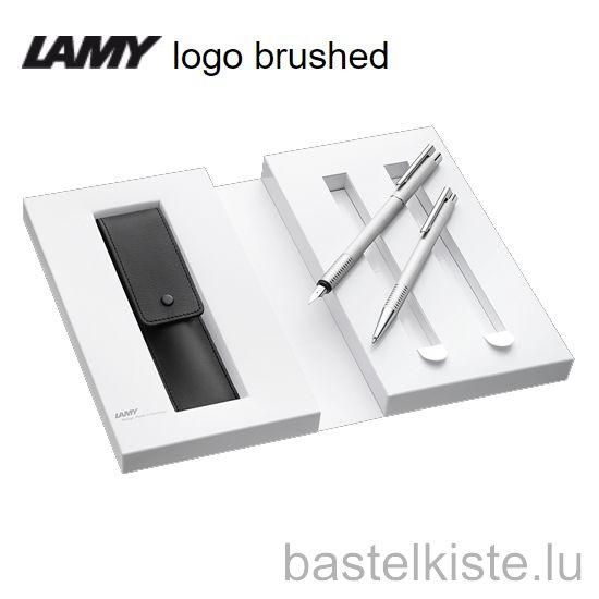 LAMY logo brushed Geschenk-Set