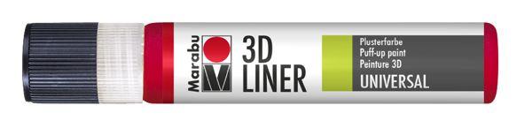 631 3D-Kirschrot