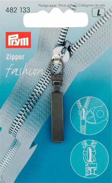 PRYM Fashion-Zipper Classic, mattschwarz