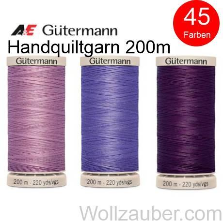 Gütermann Handquiltgarn, Quilting 200m