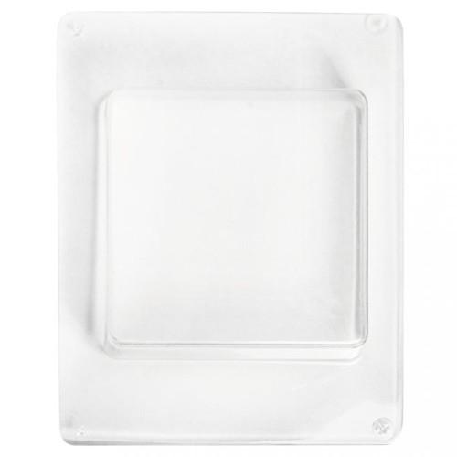 Gießform Quadrat 85x85x30mm, 1 Stück