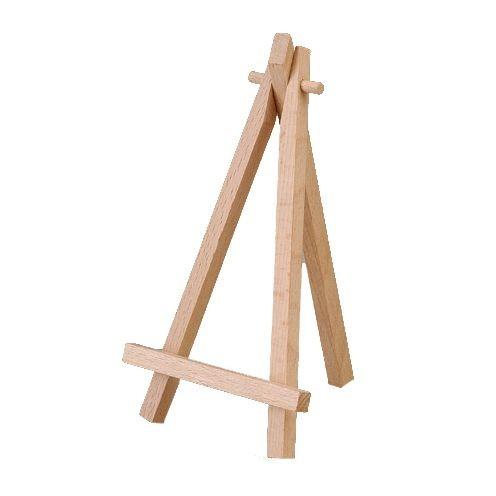 Mini-Staffelei aus Holz 16 x 9 x 1,5 cm