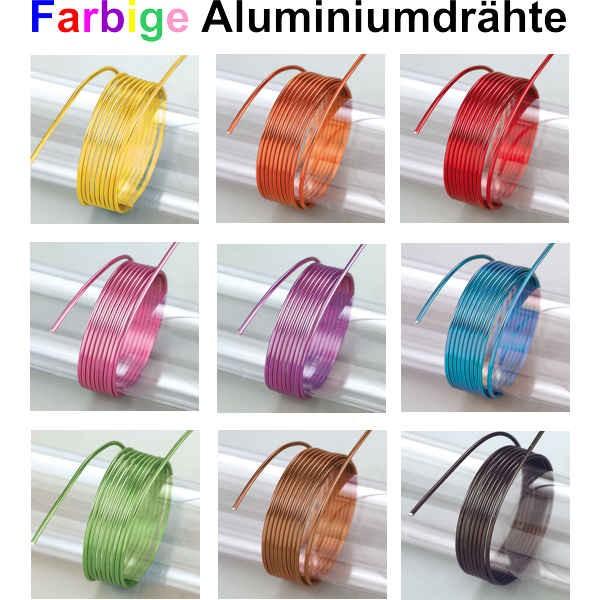 Eloxierter 2mm Aludraht, Aluminiumdraht_efco_22260