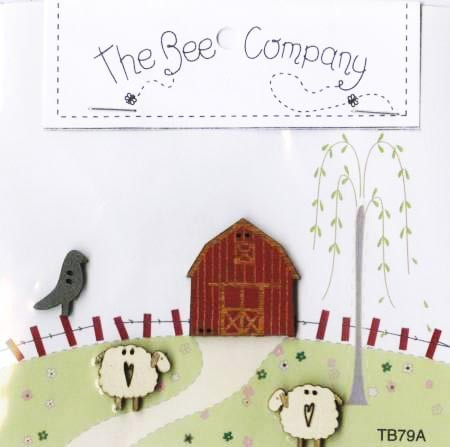 The Bee Company, Buttons - Countryside