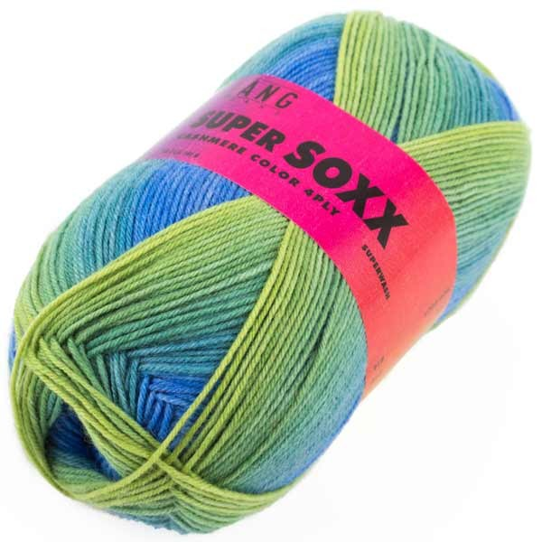 LANG YARNS Super SOXX Cashmere Color 4PLY