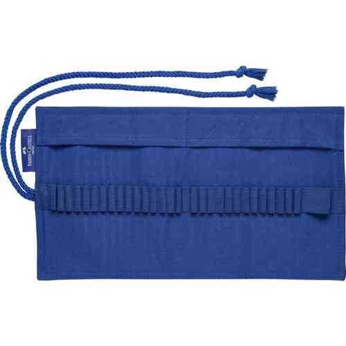 Goldfaber Stifterolle, Stiftemappe in Farbe blau