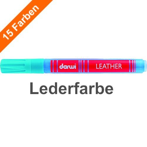 Darwi LEATHER, sehr weiche Lederfarbe in Stiftform