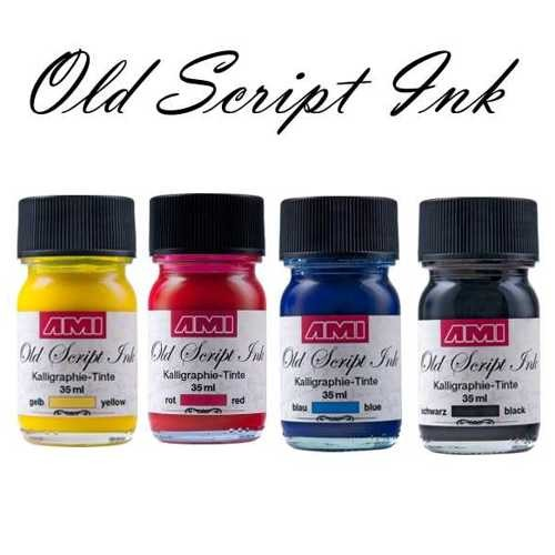 Old Script Ink, Kalligraphie Tinte 35ml