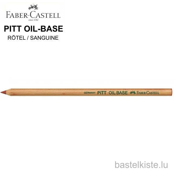 Pitt Pastellstift Einzelstift OIL-BASE Rötel / SANGUINE