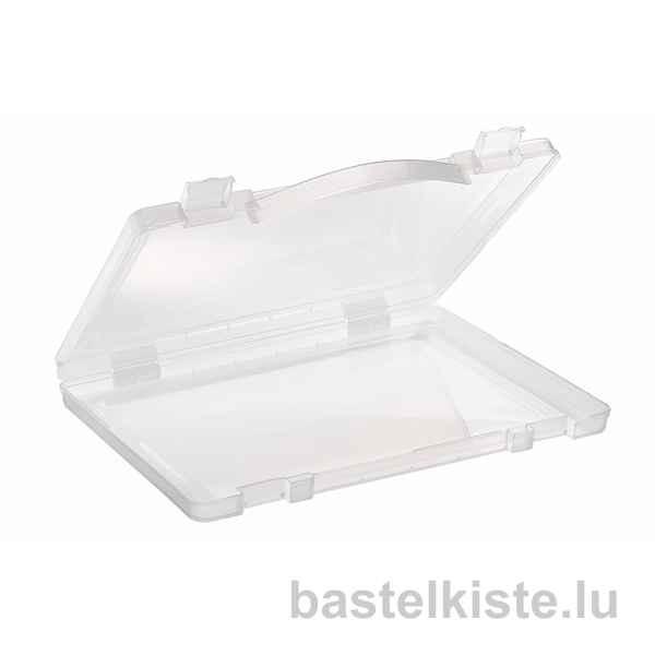 Transparenter Kunststoffkoffer DIN A4
