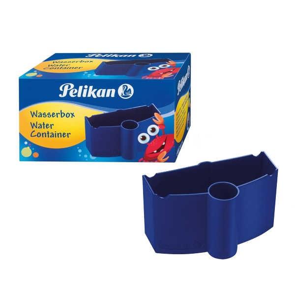 Pelikan Wasserbox mit Pinselhalter für Deckfarbkasten K12 & K24