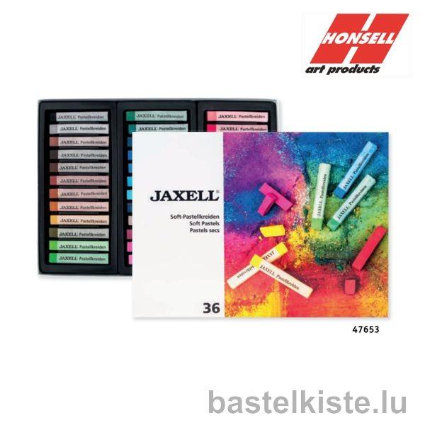 JAXELL Soft Pastelle, 36er Pastellset