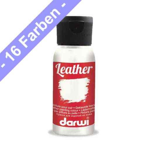 Darwi LEATHER, sehr weiche Lederfarbe 50 ml
